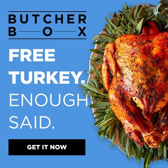 Free Turkey ButcherBox Discount Code