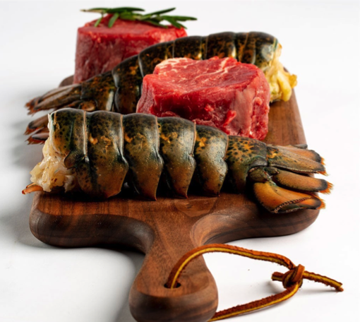 Butcherbox discount code on filet mignon & lobster tails