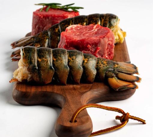 Código de descuento de Butcherbox en filet mignon y colas de langosta