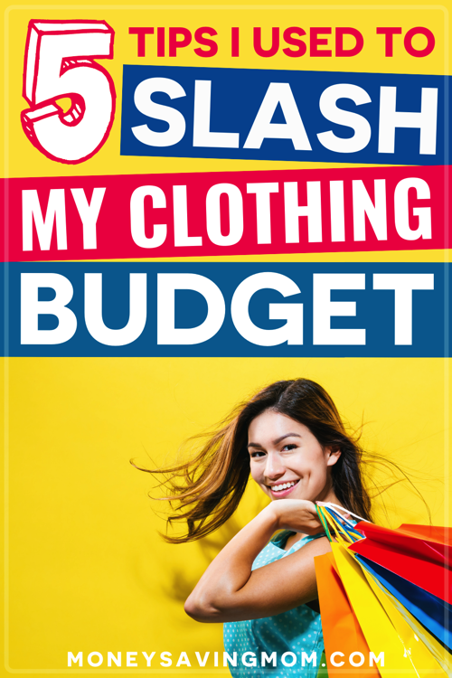 how to reduce your clothing budget