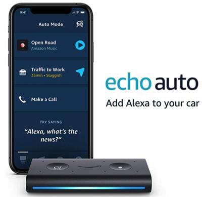 Echo Auto Prime Day Deal