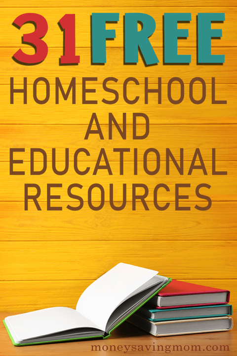 Free Homeschool Curriculum & Resources | Huge List of 31 Freebies!