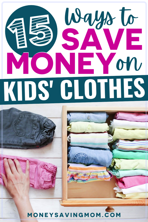 how to budget for kids clothing