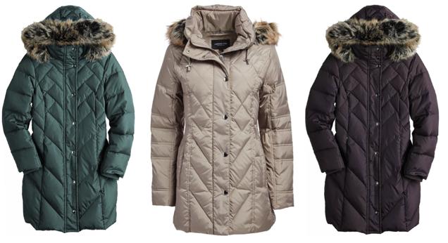 London Fog Puffer Coats