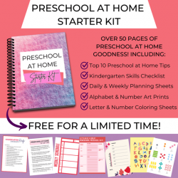 free preschool at home starter kit