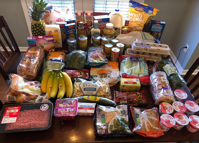 Gretchen's $84 Grocery Shopping Trip and Weekly Menu Plan for 5