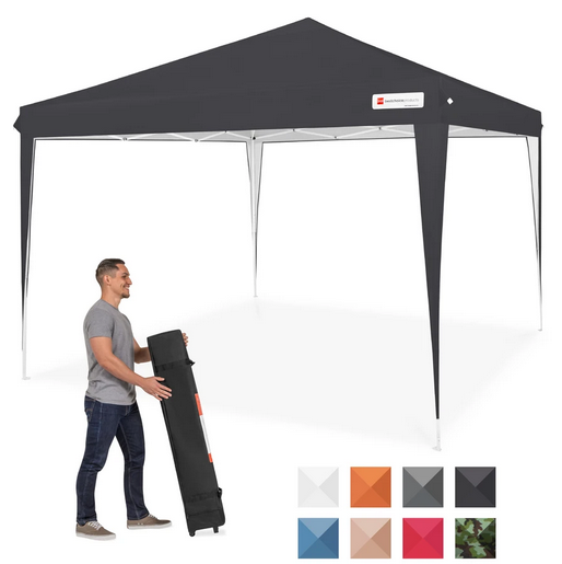 Outdoor Portable Pop Up Canopy Tent with Carrying Case
