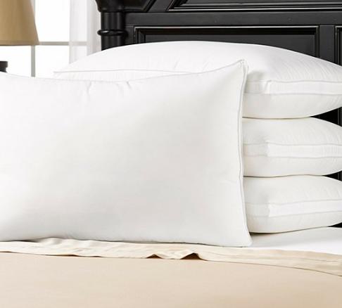Hotel Essentials Gusseted Medium Density Pillow