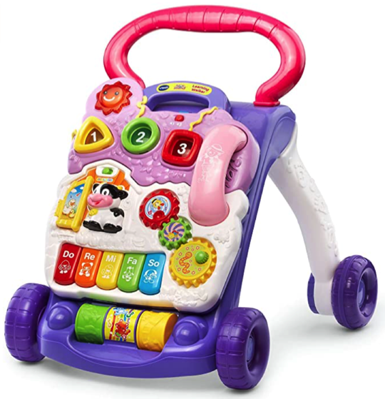 VTech Sit to Stand Walker Prime Day Deal