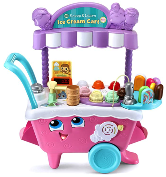 LeapFrog Scoop and Learn Ice Cream Cart Prime Day Deal