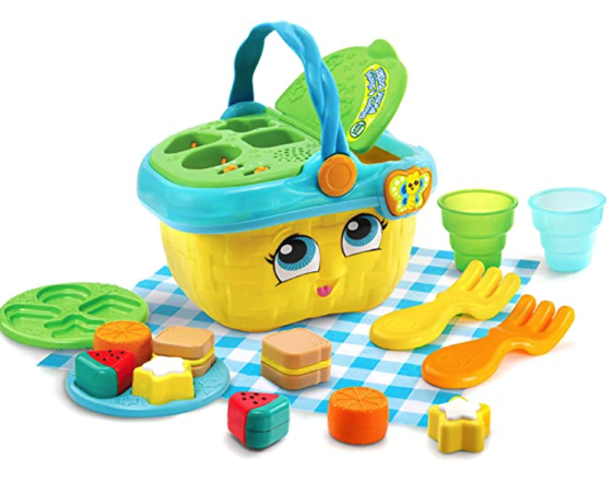 LeapFrog Shapes and Sharing Picnic Basket Prime Day Deal