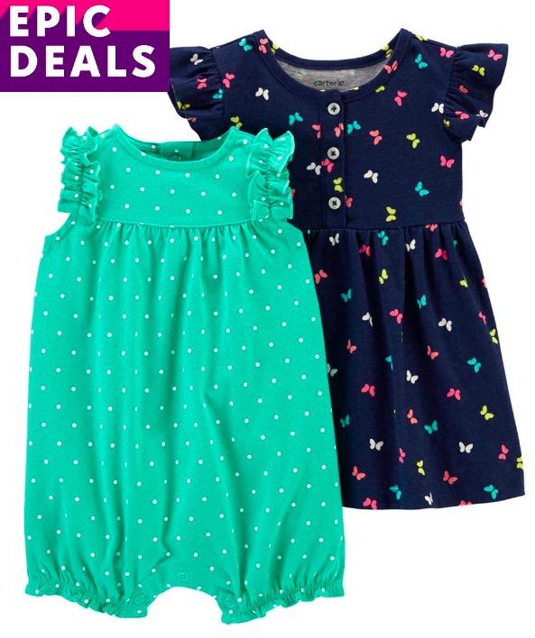 Carter's Romper & Dress Set Prime Day Deal