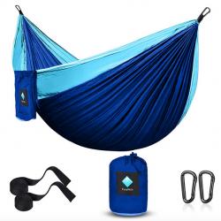 CozyHoliv Camping Hammock, Portable Parachute Hammocks