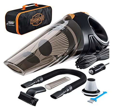 Portable High Power Corded Handheld Car Vacuum