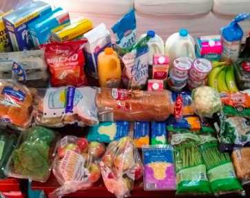 Brigette's $91 Grocery Shopping Trip and Weekly Menu Plan for 6