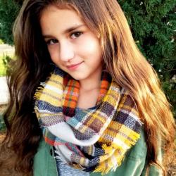 Kids Infinity Blanket Scarves