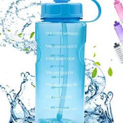 Large Motivational 64 OZ Water Bottle