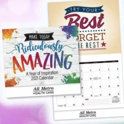 FREE 2021 Wall Calendar Sample Pack