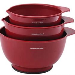 KitchenAid Classic Mixing Bowls, Set of 3