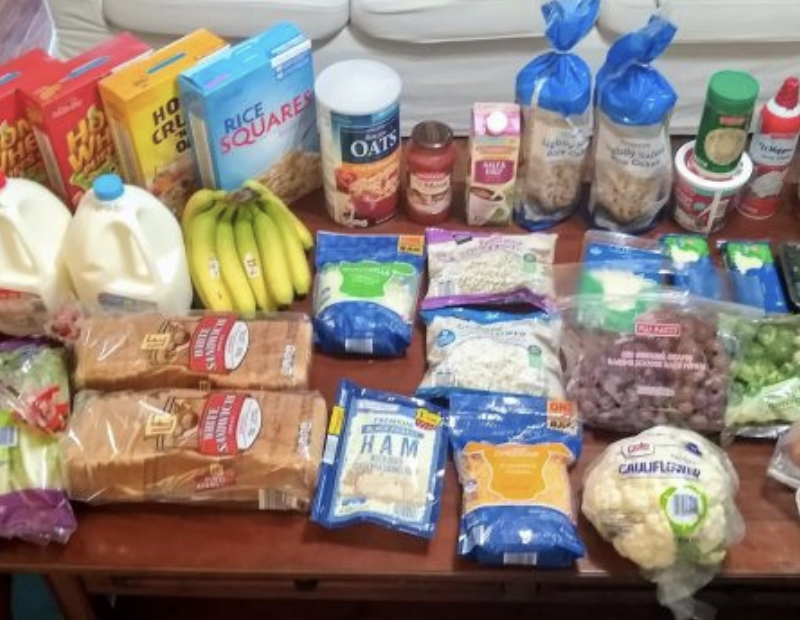 Brigette's $53 Grocery Shopping Trip and Weekly Menu Plan for 6