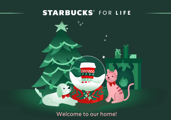 Starbucks For Life Instant Win Game