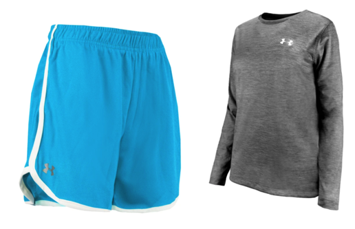 Women's Under Armour Running Clothes Bundle
