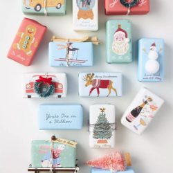 Anthro Holiday Soaps