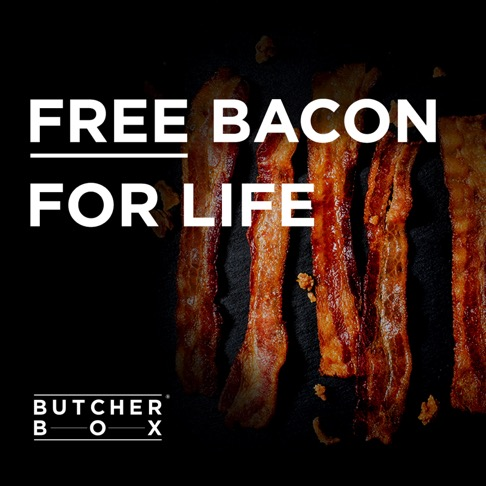 ButcherBox Discount Code for FREE Bacon for Life