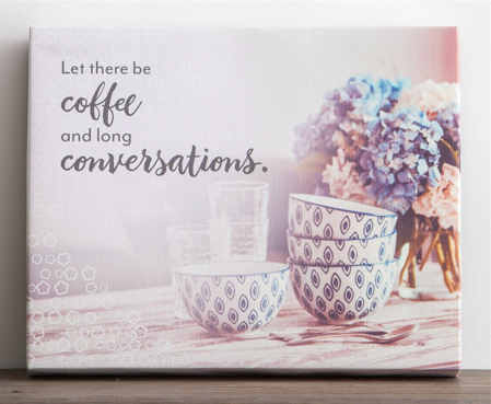 Coffee and Conversations Print