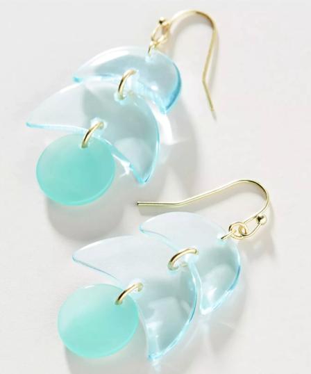 Glacier Drop Earrings