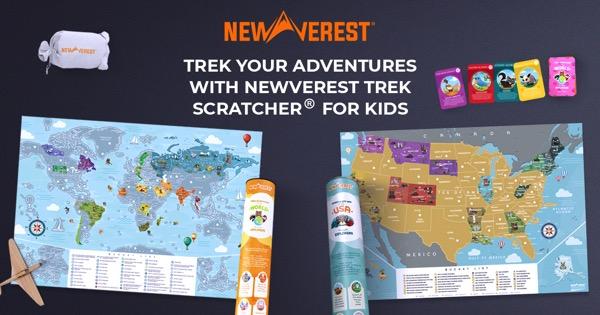 Kids Scratch Off Travel Maps