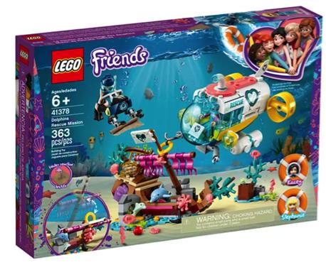 LEGO Friends Underwater Set