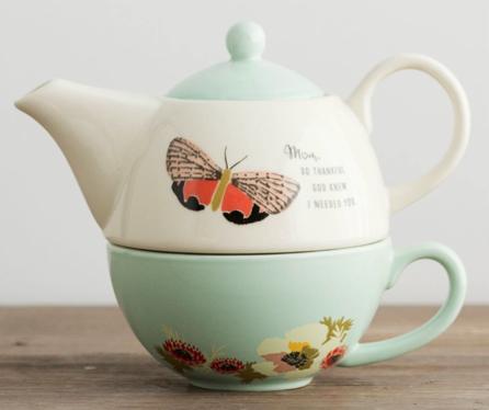 Mother Tea Pot Set
