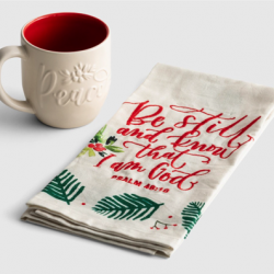 Mug and Tea Towel Gift SEt
