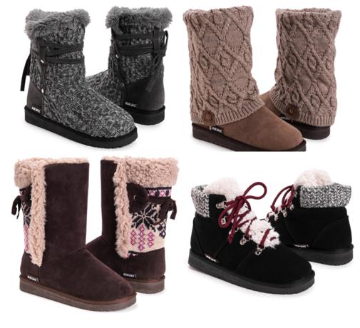 Muk Luks Comfort Boots