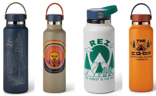 REI Hydro Flasks