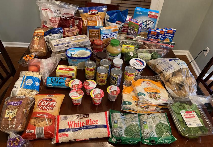 Gretchen's $80 Grocery Shopping Trip and Weekly Menu Plan for 5