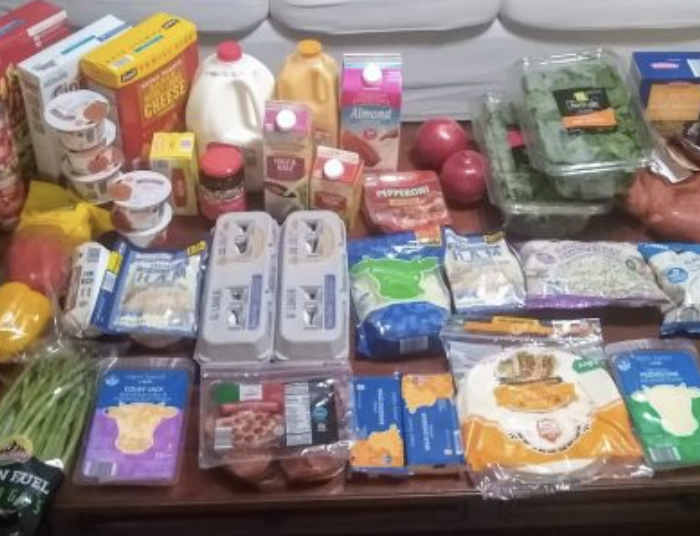 Brigette's $96 Grocery Shopping Trip and Weekly Menu Plan for 6