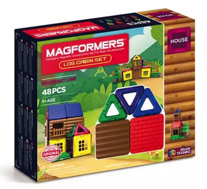 Magformers Log Cabin Set Kesepakatan Black Friday