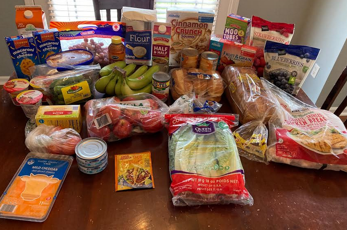Gretchen's $52 Grocery Shopping Trip and Weekly Menu Plan for 5