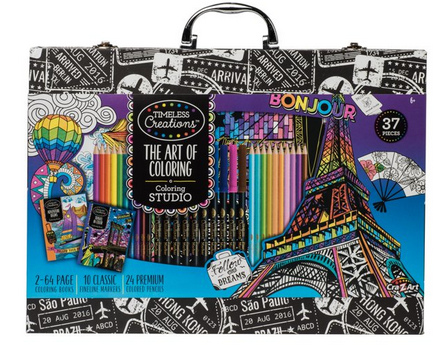 Cra-Z-Art Timeless Creations The Art of Coloring Case