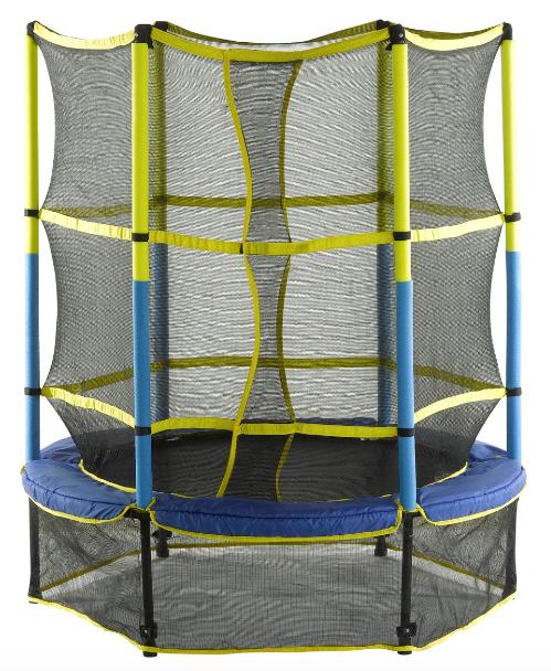 Kid-Friendly 55'' Trampoline Set