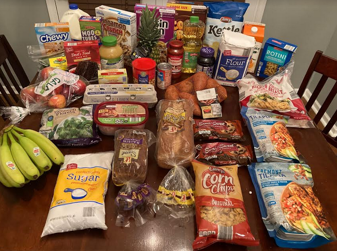 Gretchen's $82 Grocery Shopping Trip and Weekly Menu Plan for 5