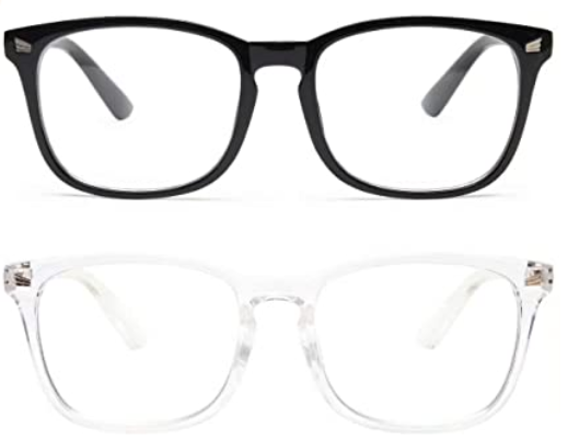 livho 2 Pack Blue Light Blocking Glasses