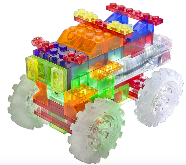 Laser Pegs 6-in-1 Monster Truck Building Set