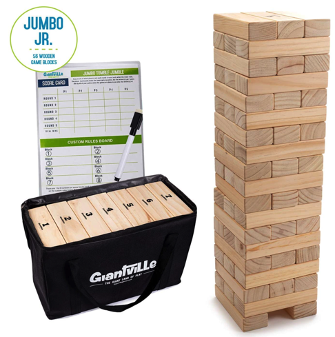 Jumbo Jr. Giant Wooden Blocks Game for just $34.99 shipped!