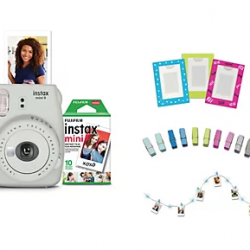 Fujifilm Instax Mini 9 Instant Print Camera and Accessories