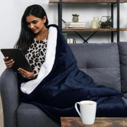 Electric Heated Sherpa Blanket
