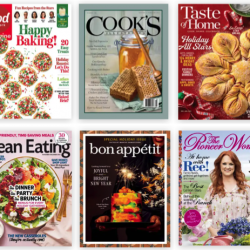 Food Magazine Subscriptions