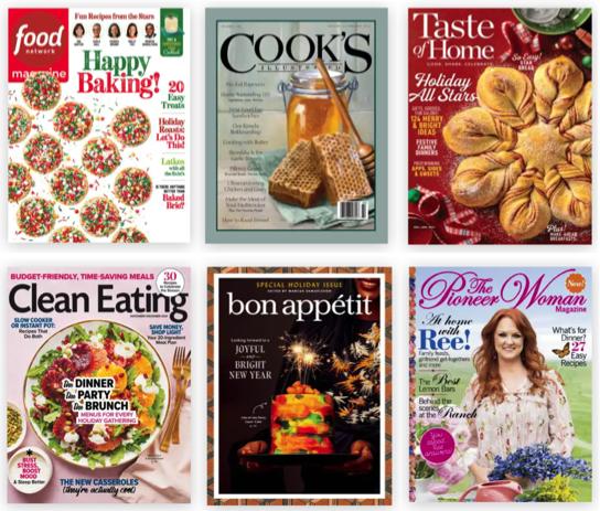 Food Magazine Subscriptions